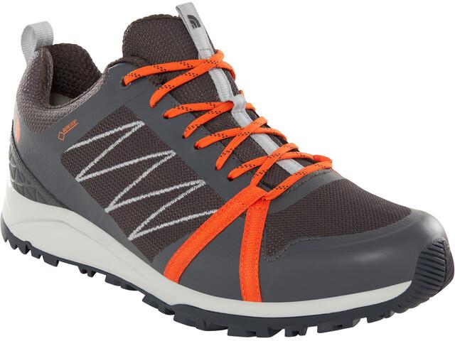 9fbfb1a8b The North Face Litewave Fastpack II GTX Shoes Men ebony grey/scarlet ibis